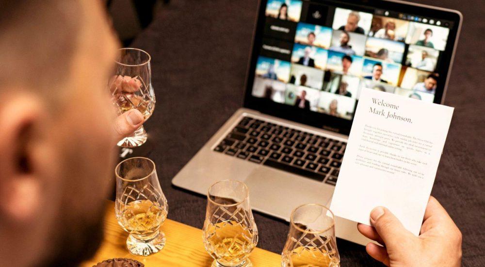 Virtual roundtable whisky-tasting