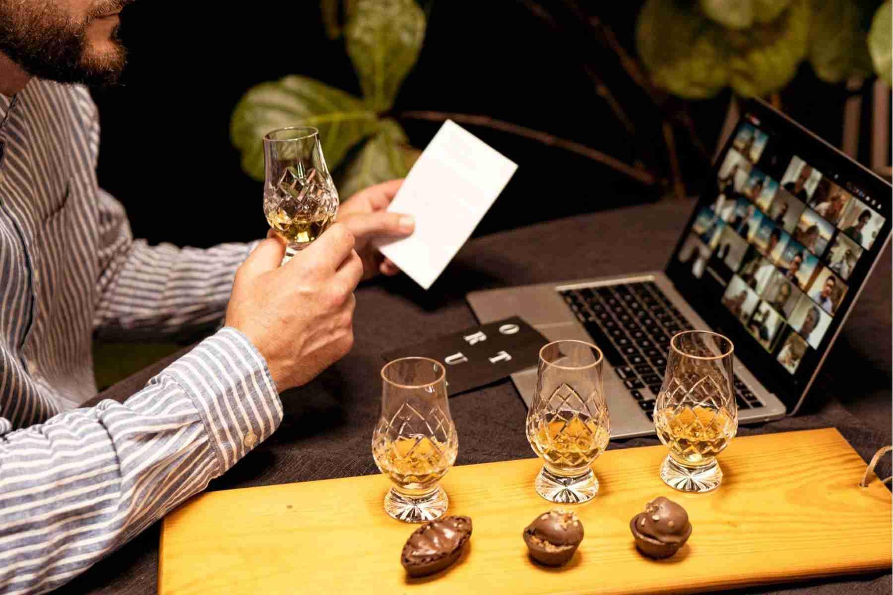 Virtual-roundtable-whisky-tasting-chocolate