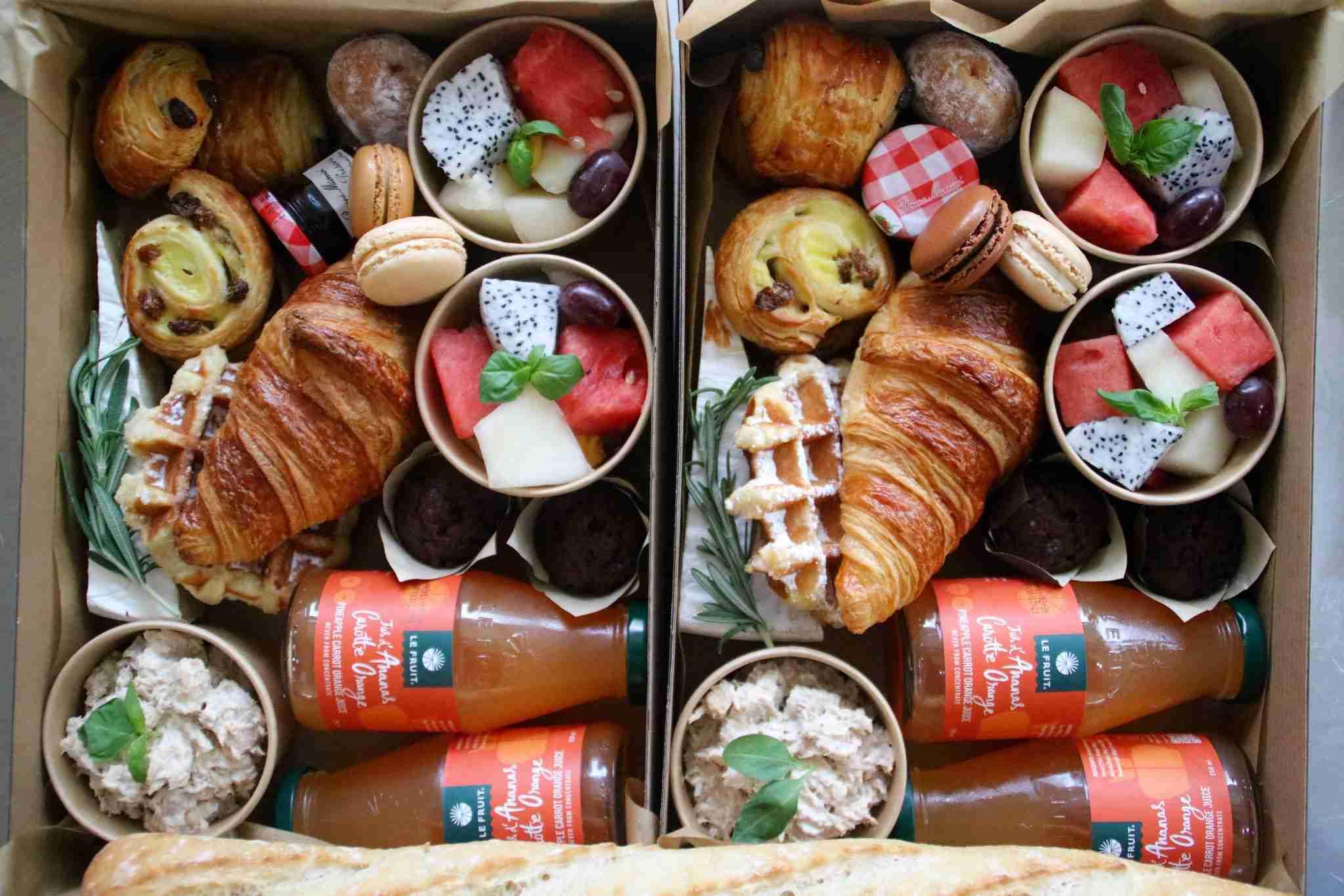 breakfast box add-on