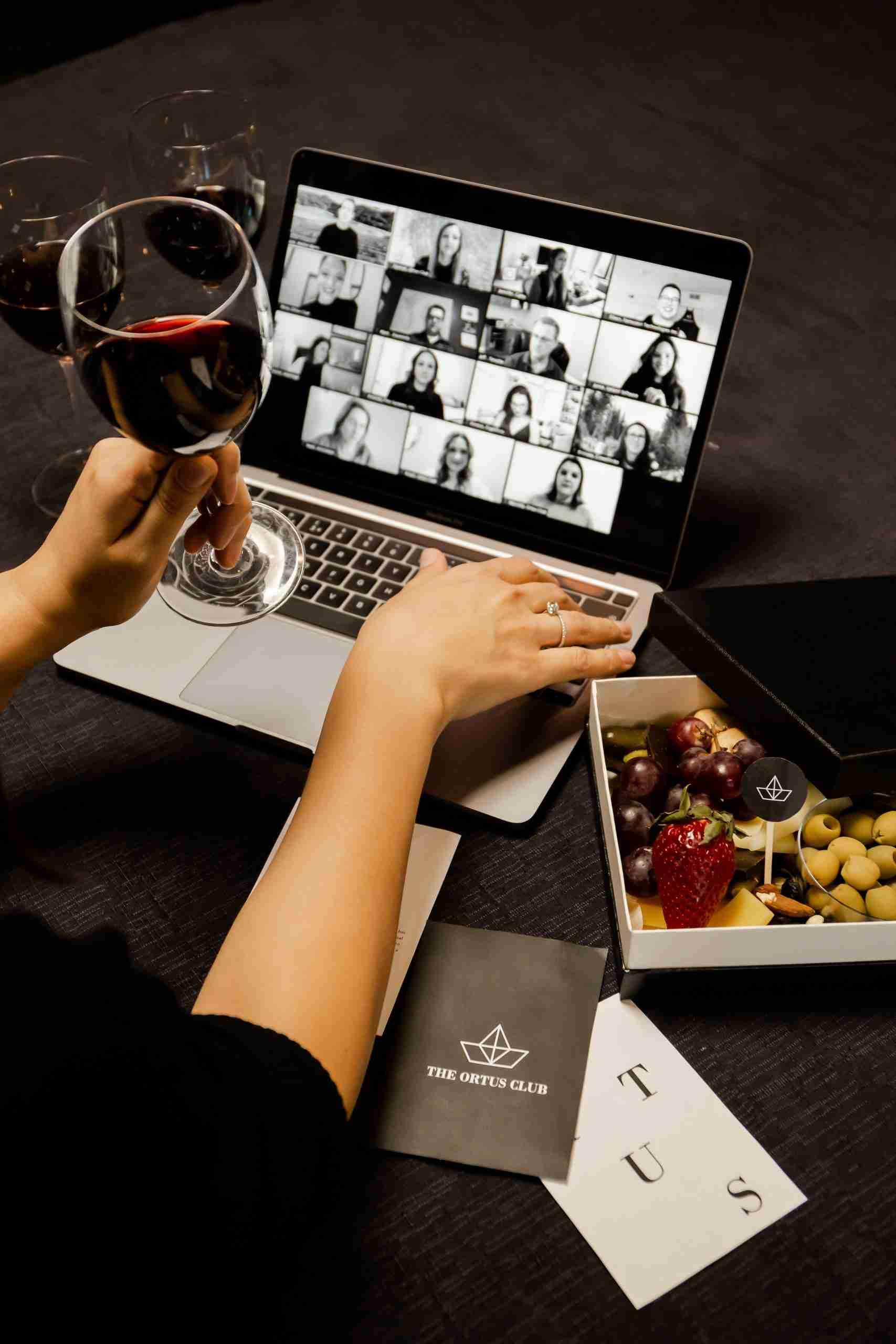 Ortus Club wine tasting