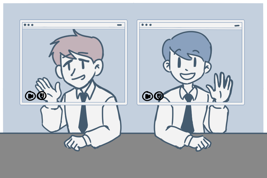 Virtual fatigue illustration
